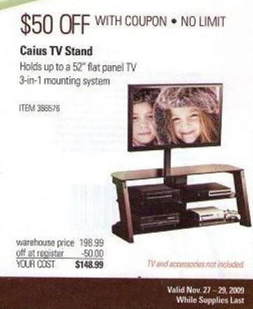 black friday deal caius tv stand. Black Bedroom Furniture Sets. Home Design Ideas