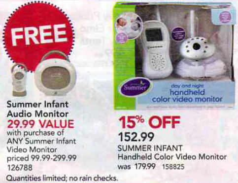 black friday deal summer infant handheld color video monitor. Black Bedroom Furniture Sets. Home Design Ideas