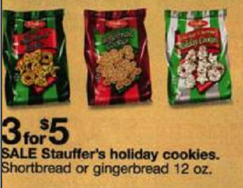 Black Friday Deal Stauffer S Holiday Cookies Shortbread