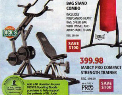 Black Friday Deal Marcy Pro Compact Trainer