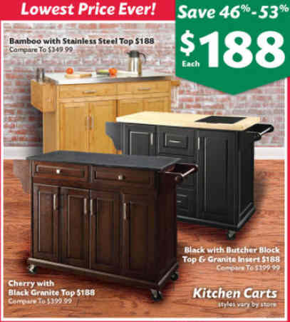 Errors? Email ... ➤. Big Lots Kitchen Island ...
