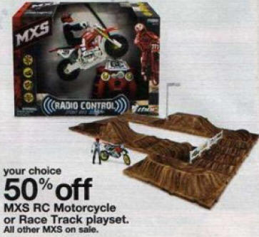 Black Friday Deal 50 Off Mxs Race Track Playset 27475