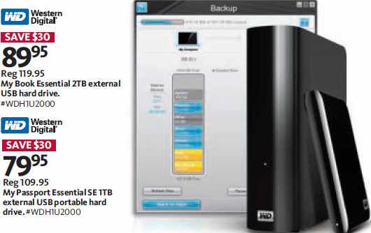 Black Friday Deal: Western Digital My Book Essential 2TB
