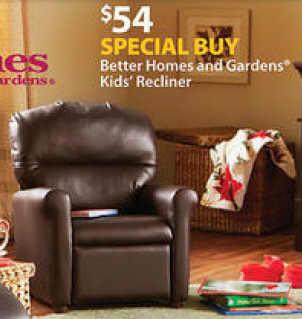 Black Friday Deal Better Homes And Gardens Kids Recliner