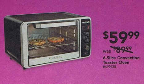 Countertop Convection Oven Black Friday : Please always check with local stores to confirm. Errors? email ...