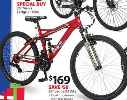 Black Friday Deal: Mongoose 29-in  Ledge 3 1 Bike - R5188WM
