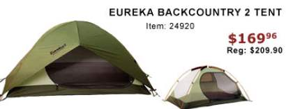 (Please always check with local stores to confirm. Errors? email editor at dealigg.com)  sc 1 st  Dealigg.com & Black Friday Deal: Eureka Backcountry 2 Tent