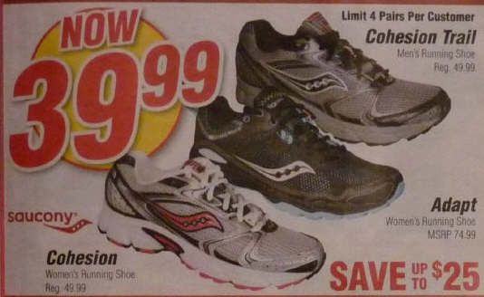 Saucony coupons 2019
