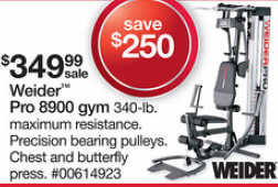 Black Friday Deal Weider Pro 8900 Weight System 006
