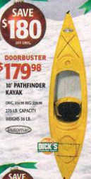 Black Friday Deal Potomac 10 Ft Pathfinder Kayak