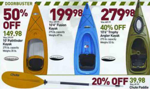 Black Friday Deal Potomac Pathfinder 10 Ft Kayak