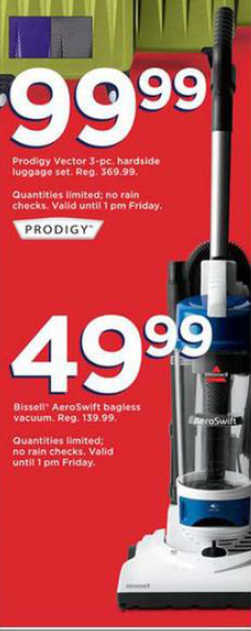 Black Friday Deal Bissell Aeroswift Bagless Vacuum