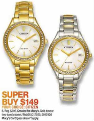 Black Friday Deal Citizen Eco Drive Women S Two Tone
